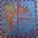 Ultima VII - płócienna mapa