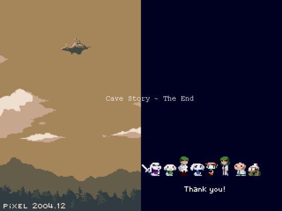 Skończyłem Cave Story