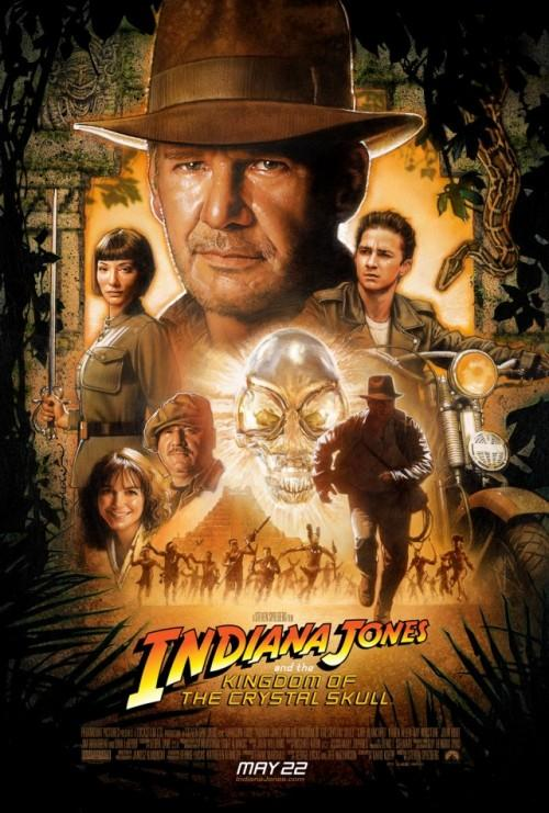 Indiana Jones IV - plakat