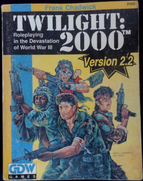 Twilight: 2000 v2.2 - okładka