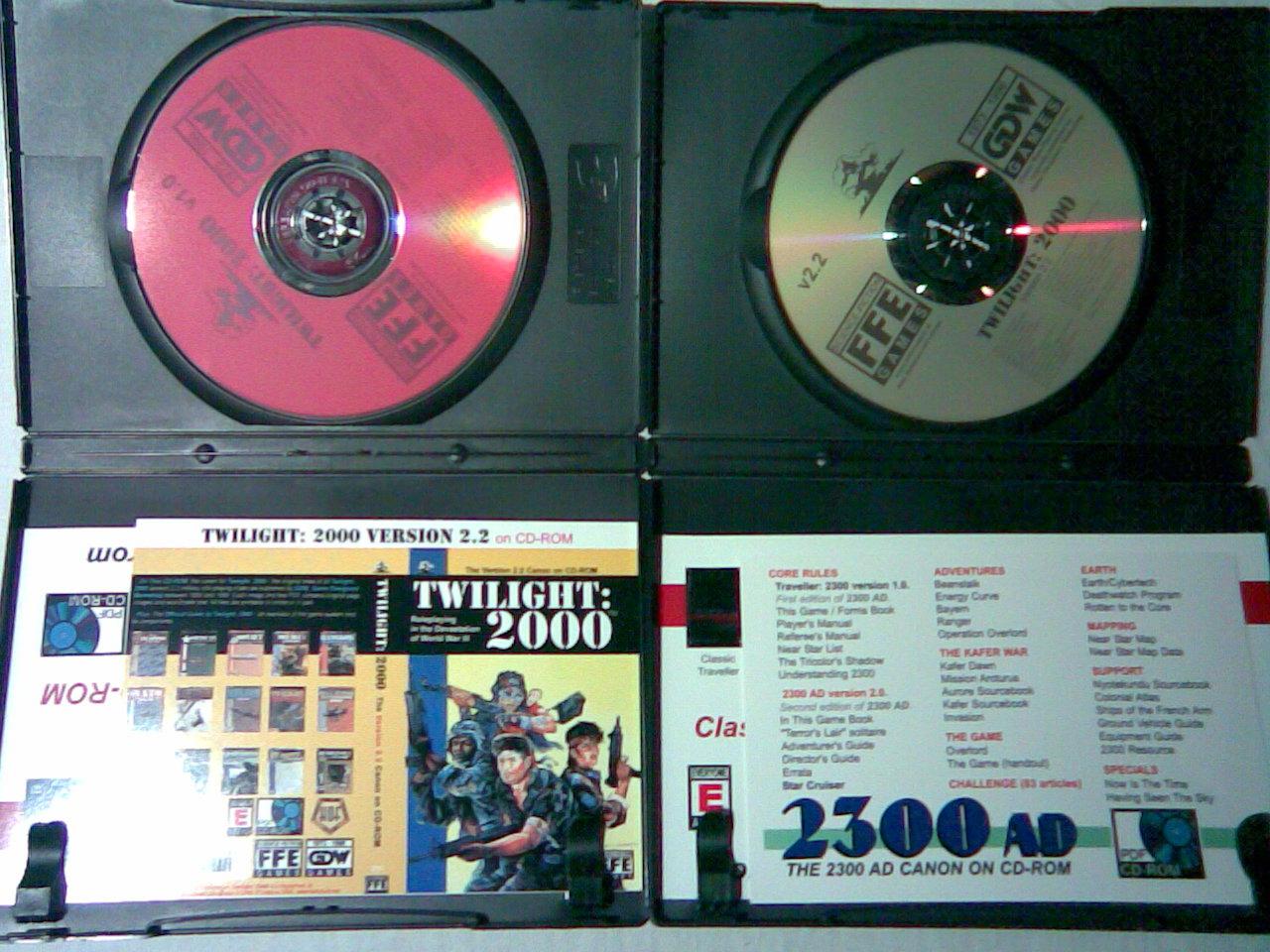 Twilight: 2000  - zawartość pudełek