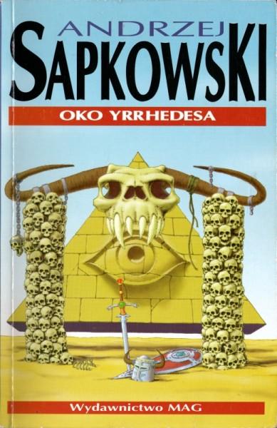 Oko Yrrhedesa – okładka (wyd. I, 1995 r.)