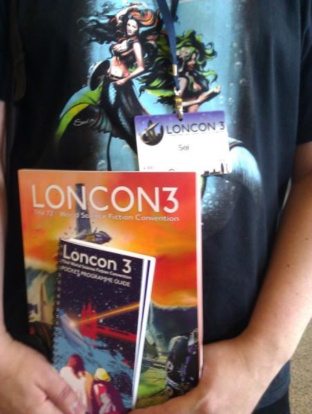 Loncon 3 – materiały konwentowe