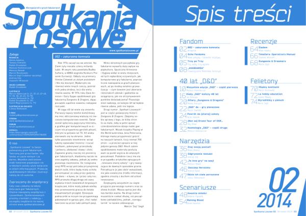"""""""Spotkania Losowe"""" 2/2014 – przykładowe strony"""