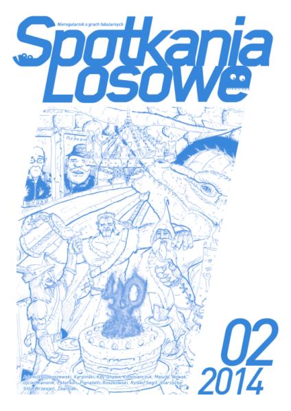 """""""Spotkania Losowe"""" 2/2014 – okładka"""