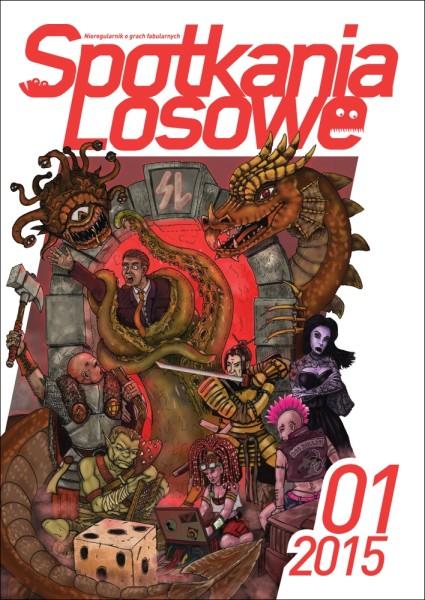 """""""Spotkania Losowe"""" 1/2015 – okładka"""