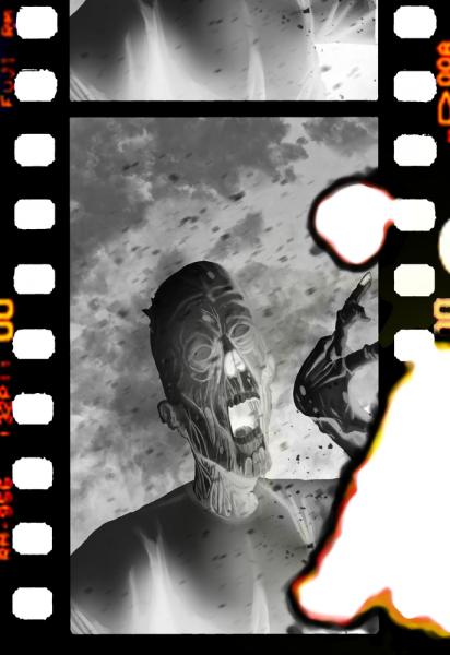 """Rewers kart używanych podczas rozgrywki w""""Kino zombie""""; rys. Marcin Adamczyk"""