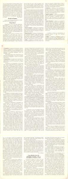 """Zapowiedź gry fabularnej """"Dragonslayer"""", ostatecznie przemianowanej na""""DragonQuest"""" (podpierwotnym tytułem wydano później grę planszową). """"Strategy & Tactics"""" #79 (Mar-Apr 1980)"""