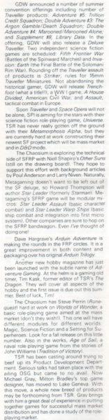 "Wzmianka o""Arduin"" Davida Hargrave'a, ""Strategy & Tactics"" #87 (Jul-Aug 1981)"