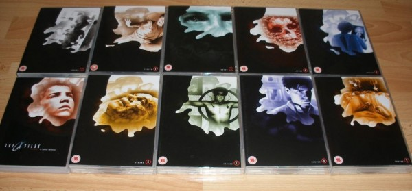 The X Files - The Complete Collector's Edition - okładki sezonów