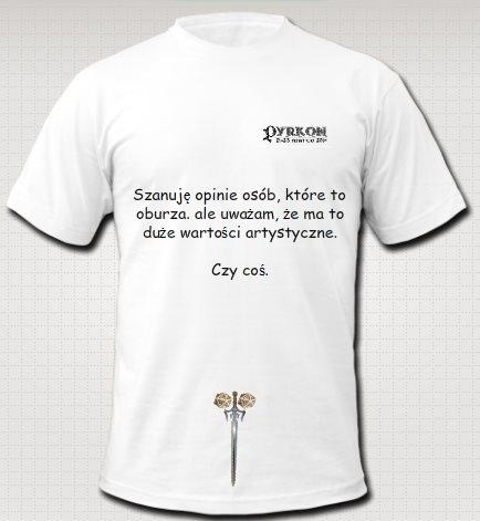 Alternatywna pyrkonowa koszulka
