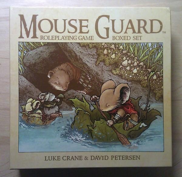 Mouse Guard 2e – wydanie pudełkowe